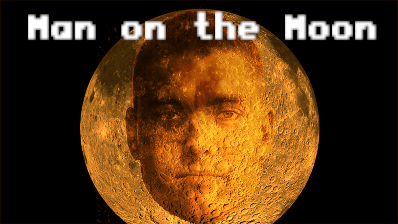 Man on the moon!